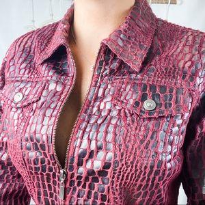Ruby Rd. Jacket / Burgundy/Black / 10